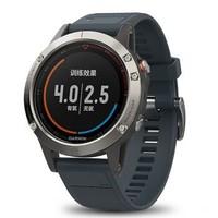 Garmin 佳明Fenix5/飞5X户外GPS智能运动手表游泳光电心率登山飞耐时5X多功能北斗腕表 fenix5中文蓝宝石版
