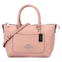 COACH 蔻驰 奢侈品 女士小号斜挎包手提单肩粉色皮质 F31466 SV/ET