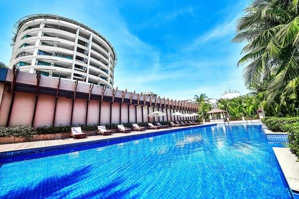 三亚海韵度假酒店 海景二加一家庭套房2晚 可拆分