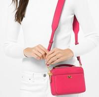 Michael Kors 邁克高仕 Mott Mini 女士單肩斜挎包 32T8GF5C0L 多色可選  653 Rose Pink