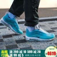 耐克男鞋女鞋Air Max 97万花筒上海限定运动鞋缓震耐磨舒适休闲透气跑步鞋CI1508-400 薄荷绿云层 42