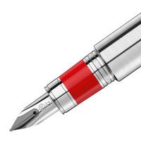 MONT BLANC 万宝龙 M系列 113622 钢笔 18K金 磨砂金属