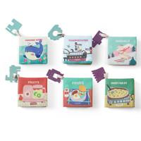 babycare婴儿布书儿童益智玩具早教书 6本装