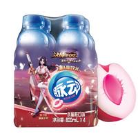 Mizone 脉动 维生素饮料 水蜜桃味 600ml*4瓶