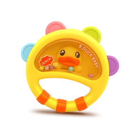 B.Duck小黄鸭婴儿玩具摇铃宝宝早教手摇铃