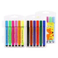 M&G 晨光 ACPN0272 小狐希里系列 12色三角杆可水洗水彩笔 12支/盒 *4件+凑单品