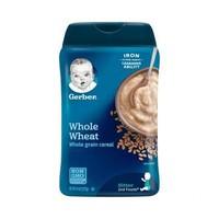 嘉宝Gerber 全麦谷物米粉 2段 227g 罐装