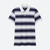 男装 DRY-EX横条POLO衫(短袖) 415952