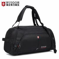 瑞士军刀瑞戈大容量手提旅行包多功能男士行李包短途旅行袋商务出差包休闲旅游包