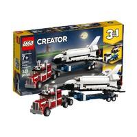 LEGO 乐高 创意百变系列 31091 航天飞机运输车
