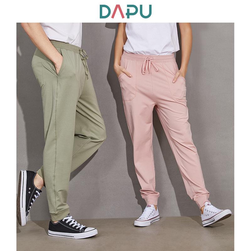 DAPU 大朴 情侣款针织运动长裤  *2件