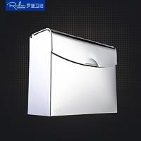 Roden罗登卫浴 卫生间浴室 纸巾盒 防水不锈钢 纸巾架 手纸盒 厕纸盒 卷纸器 G207 *7件
