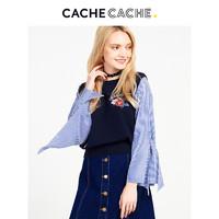 CacheCache 5510003494 女士假两件针织衫