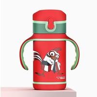 CHAONIU 超牛 CN201D 儿童不锈钢保温杯 350ml 红色