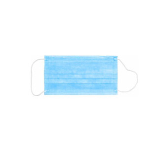 天平朝晖 一次性防护口罩 蓝色 20只装