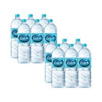 88VIP:白山水 农心白山水天然饮用纯净矿物质水2L*12瓶泡茶煮饭整箱装便携
