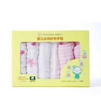Purcotton 全棉时代 手帕口水巾25*25cm 6条装 *6件