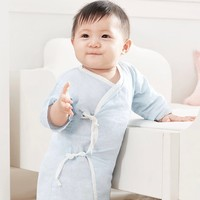 PurCotton 全棉时代 婴儿全棉纱布和袍 2件装 *2件 +凑单品
