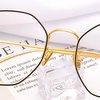 潮库 男女通用防蓝光辐射超轻护目套镜 1899 黑金色 1.61镜片