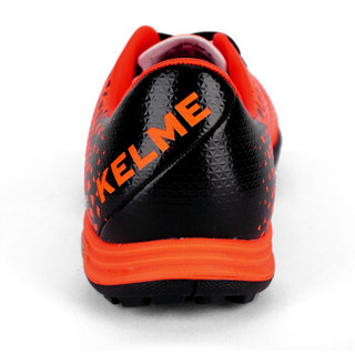 KELME卡尔美儿童足球鞋TF碎钉人造草地训练鞋K98C 荧光橙 33