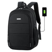 云动力 双肩包电脑包15.6英寸 男士商务防水笔记本背包