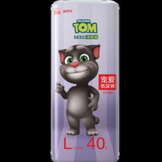 小鹿叮叮 汤姆猫宠爱纸尿裤 L40片 *2件