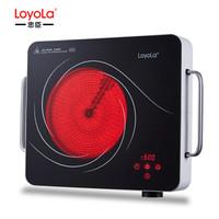忠臣(loyola)电陶炉 家用电磁炉 台式爆炒三环火大功率 不挑锅高硬度面板LC-A1