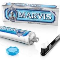 MARVIS 玛尔斯 清新海洋薄荷牙膏 85ml *2件