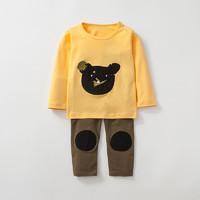 Purrfect diary 咕噜日记 儿童卡通长袖长裤2件套