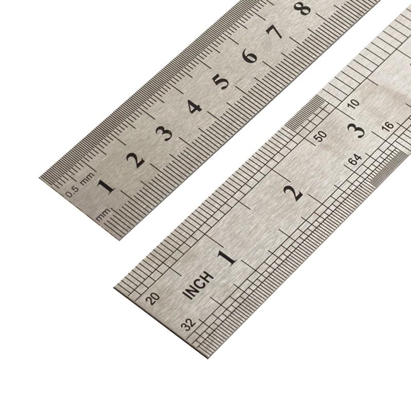 金达羽 不锈钢直尺 15cm 1把装