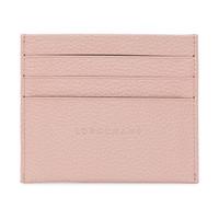 LONGCHAMP 珑骧 女士LE FOULONN 系列柔粉色皮质卡包 3219 021 507 *3件