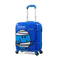 AMERICAN TOURISTER 美旅 儿童拉链万向轮拉杆箱 AT3 蓝色 25