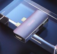 UNITEK 优越者 双Type-C扩展坞(雷电3/HDMI/PD快充)