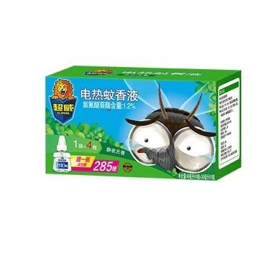 88VIP:SUPERB 超威 UPERB 电热蚊香液 5瓶1器