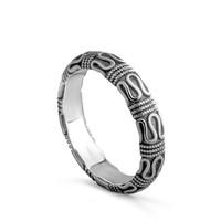 PIRATESHIP 海盗船 银饰平安纹戒指