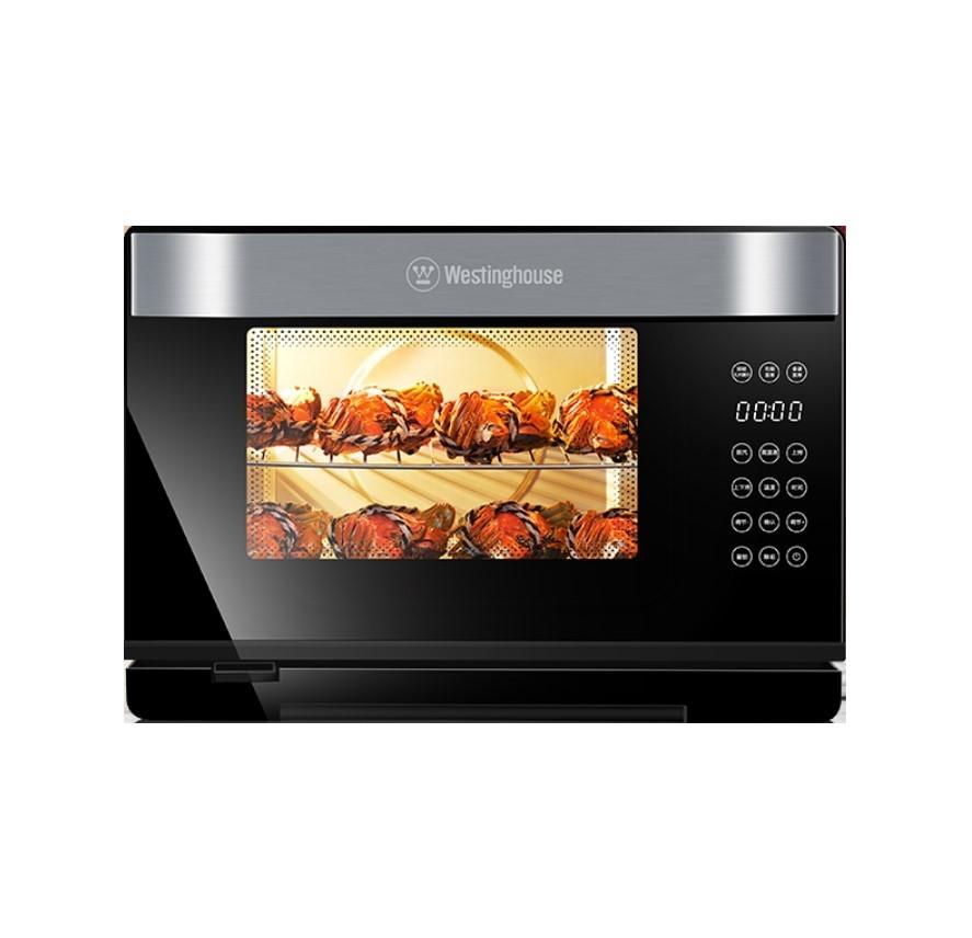 美国西屋G30蒸烤箱家用台式蒸箱烤箱二合一多功能烘焙蒸烤一体机