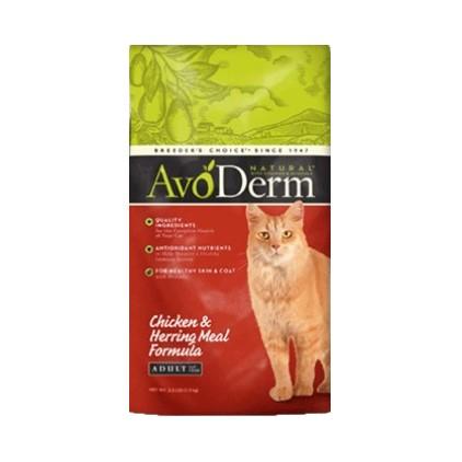 AvoDerm 牛油果 鸡肉鲱鱼成猫猫粮 5kg