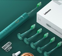 LEBOND 力博得 LBE0658 电动牙刷套装 主机+刷头*4 极光绿