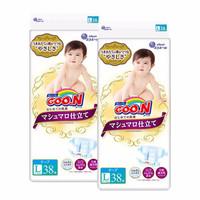 GOO.N 大王 棉花糖系列 通用纸尿裤 L38片*2