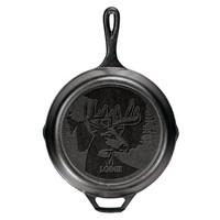 Lodge 洛极 L8SKWLDR 铸铁煎锅 福鹿吉祥款 26cm +凑单品