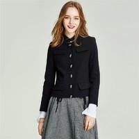 HAVVA W3985 女士立领小西装外套