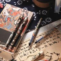 M&G 晨光 大英博物馆 水浒豪杰系列 中性笔 0.5mm 4支/盒