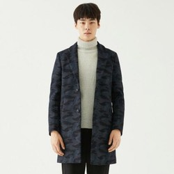 gxg呢大衣_GXG 男款迷彩羊毛毛呢休闲大衣-什么值得买