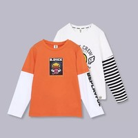B.Duck 小黄鸭儿童长袖T恤 *2件