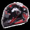 LS2全盔男女四季通用夏全覆式防雾酷跑盔冬季保暖FF358 本田红狼图腾