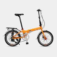 富士达20寸7速折叠自行车 E300