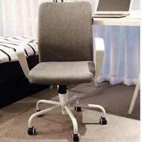Hbada 黑白调 HDNY108 电脑椅 白色扶手