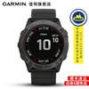 Garmin佳明fenix6X Pro/tactix泰铁时户外手表跑步运动血氧北斗GPS太阳能腕表 fenix6XPro太阳能黑色英文版