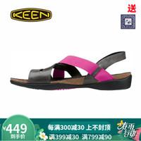 KEEN科恩DAUNTLESS STRAPPY夏季女式户外休闲防滑耐磨凉鞋1014321 褐色 女款 1014321 36 *2件