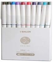 SAILOR 写乐 水彩马克笔 20色套装